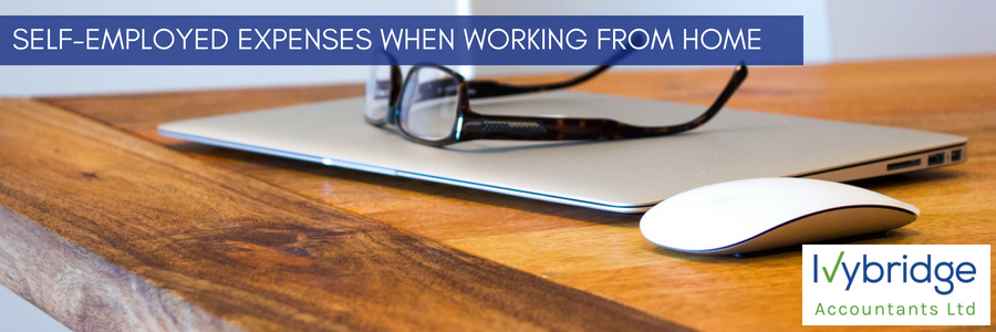 Self-employed tax expenses if you work from home