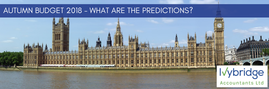 Autumn Budget 2018 – What are the predictions?