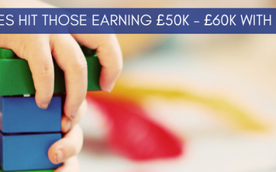 Budget changes hit those earning between £50,000 and £60,000 with children