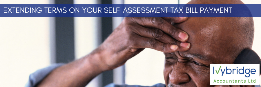 Applying for extended terms on your Self-Assessment Tax Bill payment